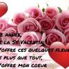 Cette année,Pour la St Valentin